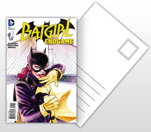 Batgirl End Game #1 Comic Cover Postal Card