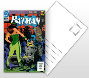 Batman Knightfall #7 Comic Cover Postal Card