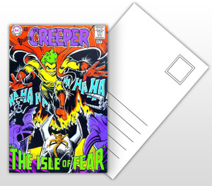 The Creeper The Isle of Fear Comic Cover Postal Card