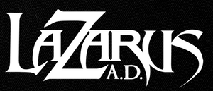 "Lazarus A.D. - Logo 7x4"" Printed Patch"