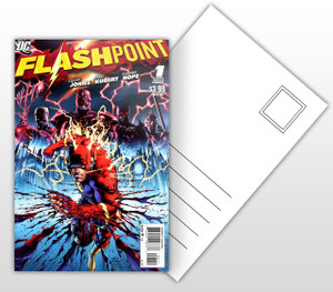 Flashpoint Comic Cover Postal Card