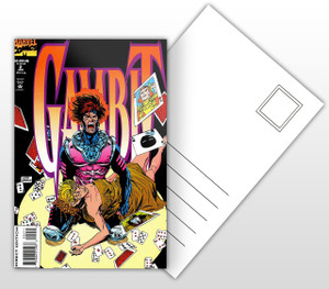 Gambit Vol 1 #2 Comic Cover Postal Card