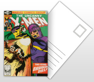 The Uncanny X-Men This Issue Everybody Dies! Comic Cover Postal Card