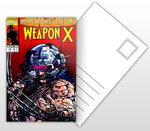 Marvel Presents Weapon X Comic Cover Postal Card