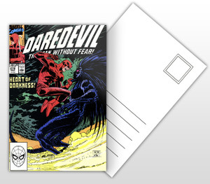 Daredevil Heart of Darkness Comic Cover Postal Card