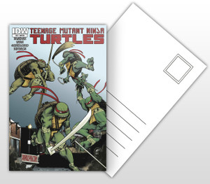 IDW #33 Teenage Mutant Ninja Turtles Postal Card