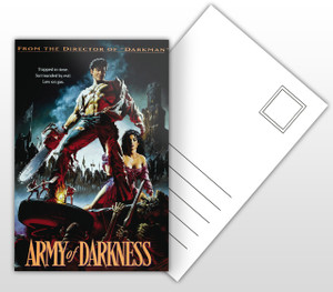 Army of Darkness Movie Poster Postal Card