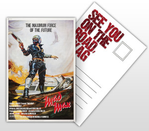 Mad Max The Maximum Force of the Future Movie Poster Postal Card