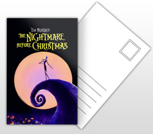 The Nightmare Before Christmas Movie Poster Postal Card