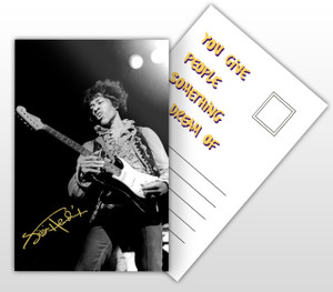 Jimmi Hendryx You Give People Something to Dream Of Postal Card