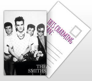 The Smiths This Charming Man Album Cover Postal Card