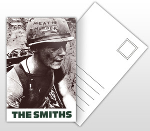 The Smiths Meat is Murder Album Cover Postal Card