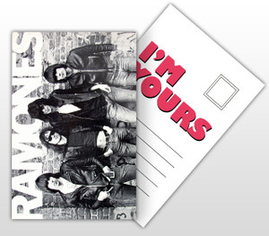 Ramones I'm Yours Album Cover Postal Card