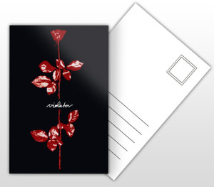 Depeche Mode Violator Album Cover Postal Card