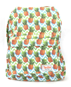 Tevha Supplies - Pineapple Collage Backpack