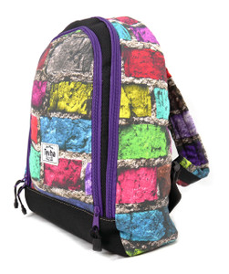 Tevha Supplies - Colorful Bricks Cosmy Mini Backpack