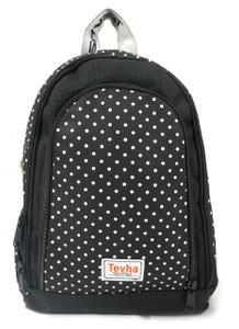 Tevha Supplies - White Polka Dot Cosmy Mini Backpack
