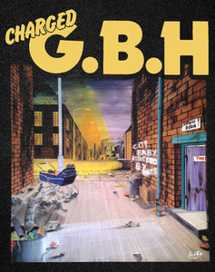 """G.B.H - City Baby Attacked By Rats Backpatch 12x16"""""""