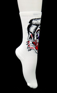 Stray Cats Cat Logo Socks