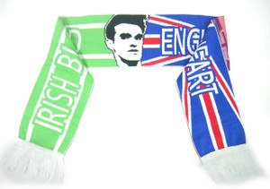 "Morrissey - Logo 58x9"" Irish Blood Scarf"