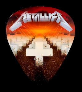 Metallica - Master of Puppets Standard Guitar Pick