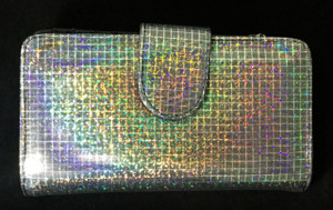 Marinosx Wallets - Style 0014 - Holographic Plaid