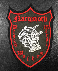 "Nargaroth - Coat of Arms 4""x3"" Embroidered Patch"