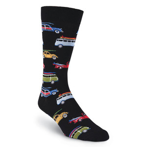 K. Bell - Gone Surfing Crew Socks