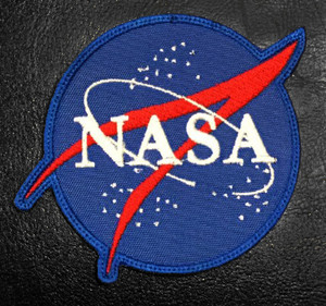 "Nasa Logo 3"" Embroidered Patch"