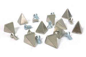 Steel Pyramid Spikes with  Bolt 10 pieces