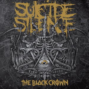"Suicide Silence - The Black Crown 4x4"" Color Patch"