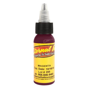 Eternal Ink .5oz Tattoo Ink Bottle - Magenta