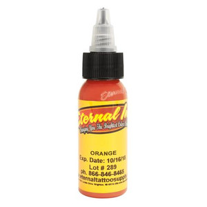 Eternal ink .5oz Tattoo Ink Bottle - Orange