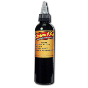 Eternal ink .5oz Tattoo Ink Bottle - Plum