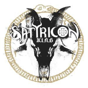 "Satyricon - K.I.N.G. 4x4"" Color Patch"
