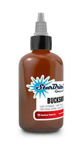 Starbrite Tattoo Ink Bottle .5oz - Buckskin Tan