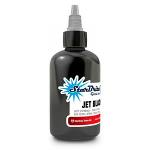 Starbrite Tattoo Ink Bottle 1oz - Jet Black Outliner