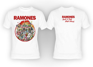 Ramones - Rock n Roll Highschool T-Shirt