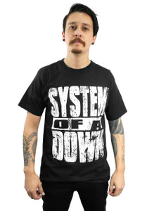 System of a Down - Self Titled Album T-Shirt