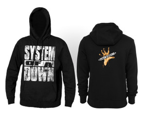 System of a Down - Self Titled Album Hooded Sweatshirt