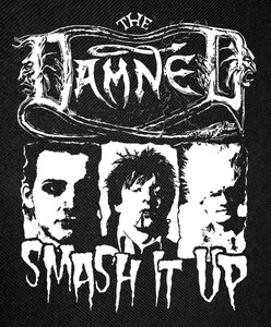 """The Damned - Smash It Up Backpatch 13x16"""""""