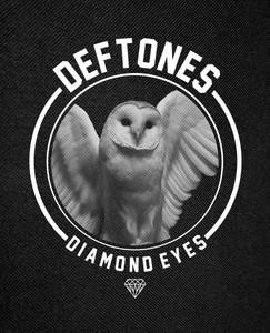 "Deftones - Diamond Eyes Backpatch 12x16"""