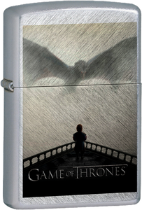 Game of Thrones - Tyrion and Drogon Chrome Lighter