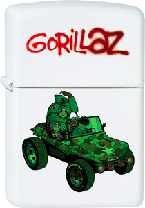 Gorillaz - Self Titled Album White Lighter