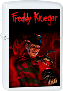 Nightmare on Elm Street - Freddy Krueger White Lighter