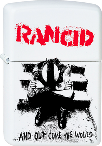 Rancid - and Out Come the Wolves White Lighter