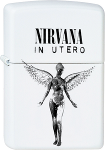 Nirvana - In Utero White Lighter