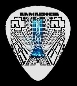 Rammstein Concert Standard Guitar Pick