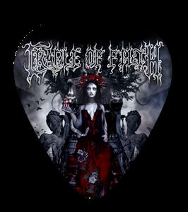 Cradle of Filth - Darkly, Darkly, Venus Aversa Standard Guitar Pick