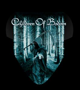 Children of Bodom by Christopher Lovell Standard Guitar Pick